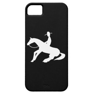 reining horse icon iPhone 5 case