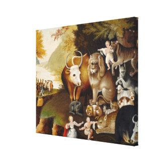 Reino apacible, c.1834 (aceite en lona) impresión en lona estirada