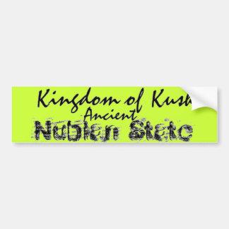 Reino de Africankoko de Kush, Nubian, Egipto, Sudá Etiqueta De Parachoque