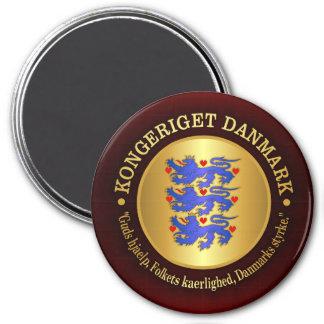 Reino de Dinamarca Imán Redondo 7 Cm