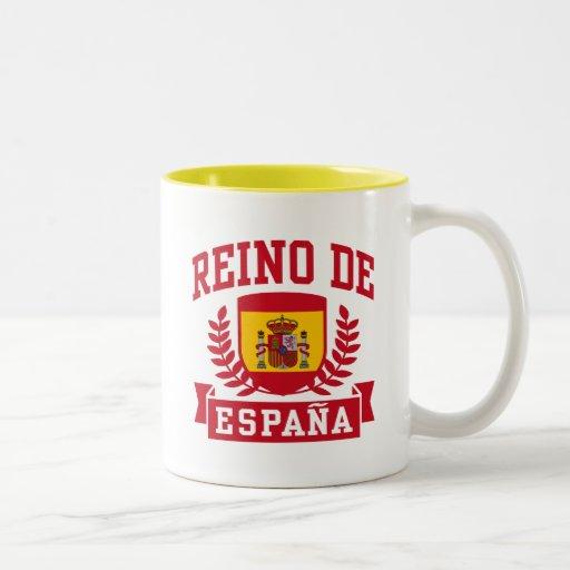Reino De Espana Coffee Mugs