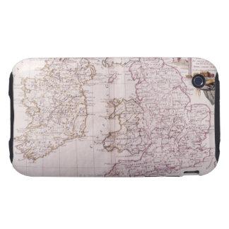 Reino de Inglaterra Tough iPhone 3 Protectores