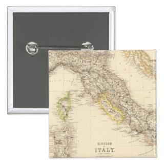 Reino de Italia Pin Cuadrada 5 Cm