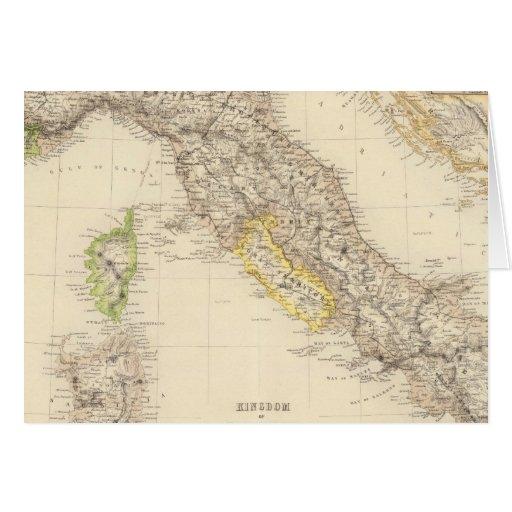 Reino de Italia Tarjeta