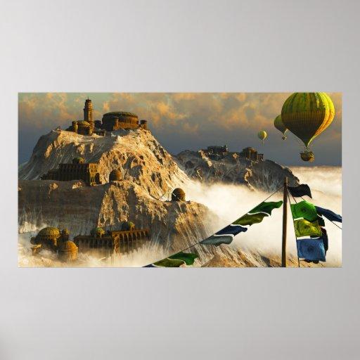 Reino de Kalki, por José Mosa Poster