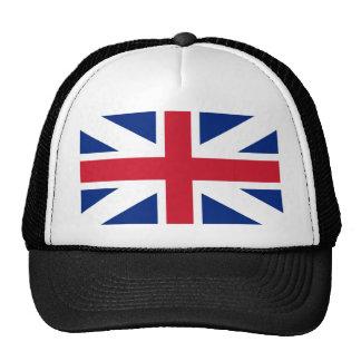 Reino de la bandera de Gran Bretaña (1606-1801) Gorros Bordados