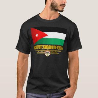 Reino de la bandera de Jordania Playera