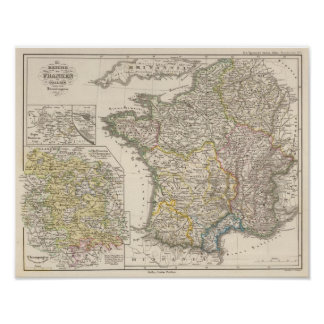 Reino de las cartas francas póster