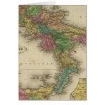 Reino de Nápoles o los dos Sicilies 2 Tarjeta De Felicitación