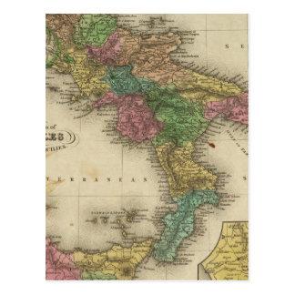 Reino de Nápoles o los dos Sicilies 2 Tarjeta Postal