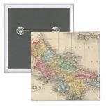 Reino de Nápoles o los dos Sicilies Pin Cuadrado