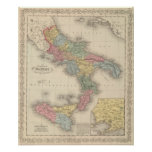 Reino de Nápoles o los dos Sicilies Póster