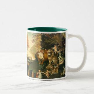 Reino de Peacable por los catetos de Edward Tazas De Café