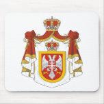 Reino de Serbia Alfombrilla De Ratones
