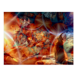 Reino de un mago tarjetas postales