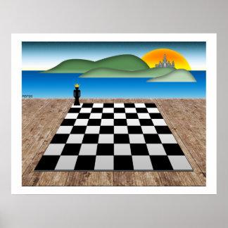 Reino del ajedrez póster
