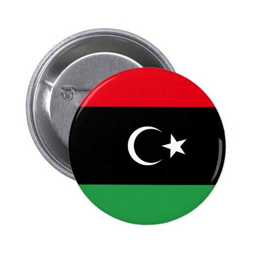 Reino del botón de Libia Pins