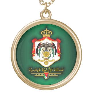 Reino del COA de Jordania (árabe) Collar Personalizado