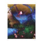 Reino del colibrí impresiones en lienzo estiradas