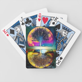 Reino del conocimiento divino baraja de cartas