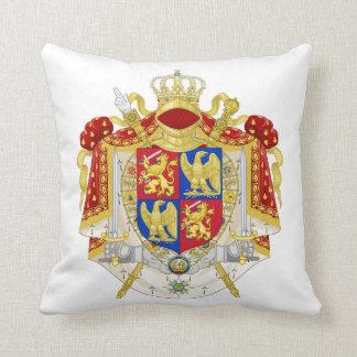 Reino del escudo de armas de Holanda 1808 Cojines