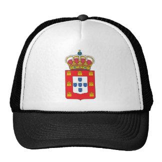 Reino del escudo de armas de Portugal (1830) Gorros Bordados