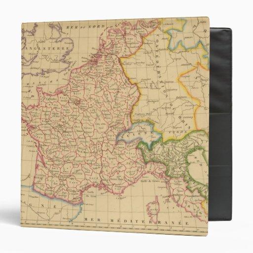 """Reino del imperio de Francia y de Italia, 1812 Carpeta 1 1/2"""""""