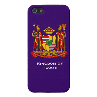 Reino del kaso de Hawai TIphone del caso de Hawaii iPhone 5 Carcasas