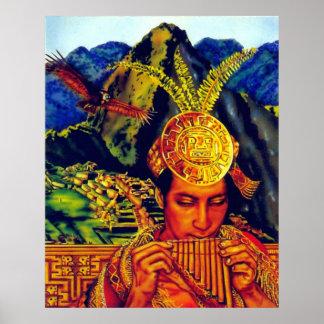 Reino del poster de dios del sol 24x30