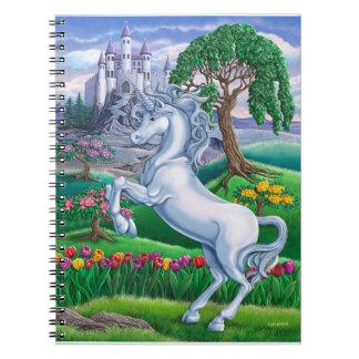 Reino del unicornio libro de apuntes