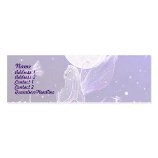Reino elemental tarjeta de visita