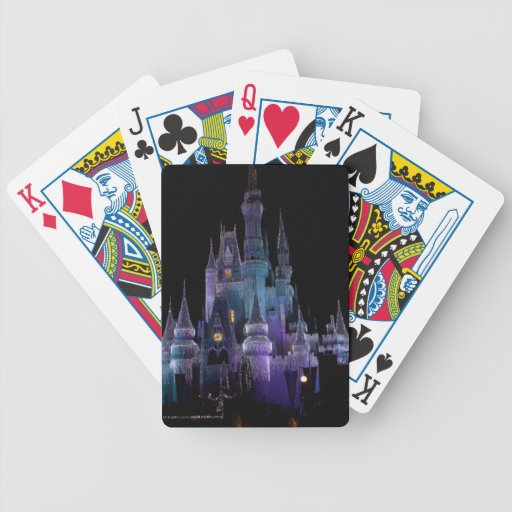 reino mágico con los carámbanos cartas de juego