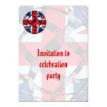 Reino Unido #1 Invitación 12,7 X 17,8 Cm