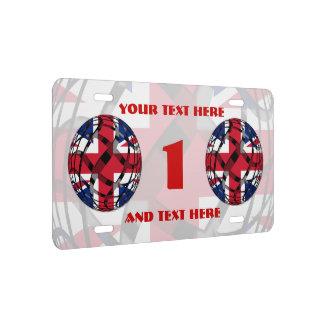 Reino Unido #1 Placa De Matrícula