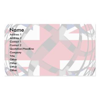 Reino Unido 1 Plantilla De Tarjeta De Visita