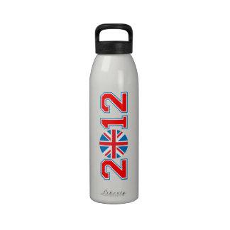 Reino Unido 2012 Botella De Beber