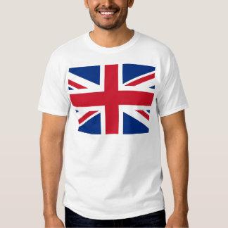 - Reino Unido - bandera británica de Gran Bretaña Playeras