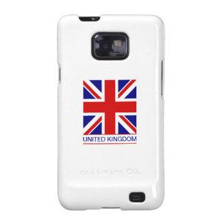 Reino Unido - bandera de Union Jack Galaxy SII Fundas