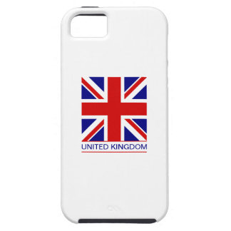 Reino Unido - bandera de Union Jack iPhone 5 Case-Mate Protector