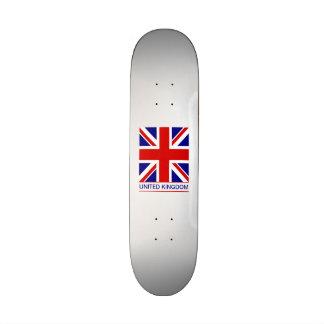 Reino Unido - bandera de Union Jack Tabla De Skate
