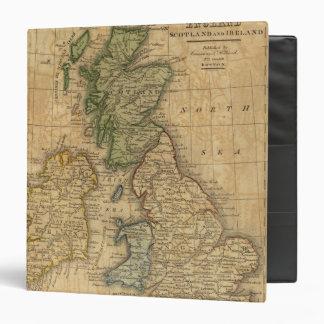 "Reino Unido de Inglaterra, de Escocia y de Irlanda Carpeta 1 1/2"""