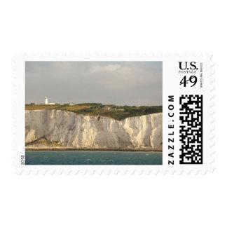 Reino Unido, Dover. Los acantilados blancos Sello