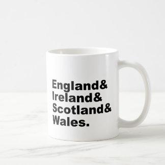 Reino Unido el | Inglaterra Irlanda Escocia País Taza