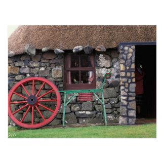 Reino Unido, Escocia, isla de Skye, piedra Postal