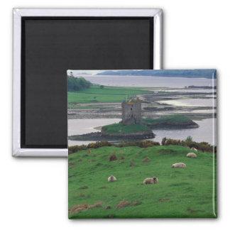 Reino Unido, Escocia, isla de Skye, vieja Imán Cuadrado