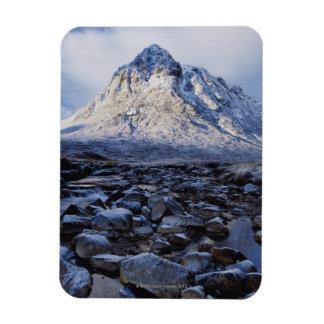 Reino Unido Escocia montañas MOR de Buchaille E Imán
