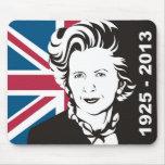 Reino Unido está de luto a Margaret Thatcher, la d Alfombrillas De Raton