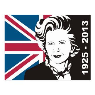 Reino Unido está de luto a Margaret Thatcher, la Postales