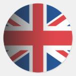 Reino Unido Etiqueta Redonda