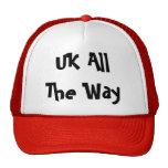 Reino Unido hasta el final Gorros